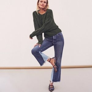 NWT $138 Anthropologie Pilcro High-Rise Flare
